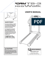 Pro-Form Treadmill Manual