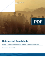 Unintended Roadblocks