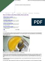How to Make Leche Flan Gelatin, The Leche Tin _ FoodRecap