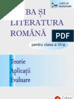 Limba şi Literatura Română pentru clasa a 6-a