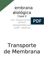 Membrana Biológica Parte II