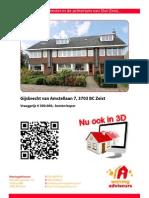 Brochure Gijsbrecht Van Am Stella An 7 Te Zeist