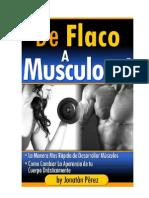 De Flaco a Musculoso