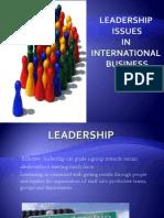 Leadership Issues