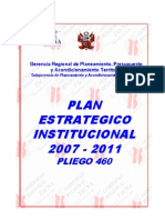 Plan Estrategico Institucional 2007 2011 TACNA