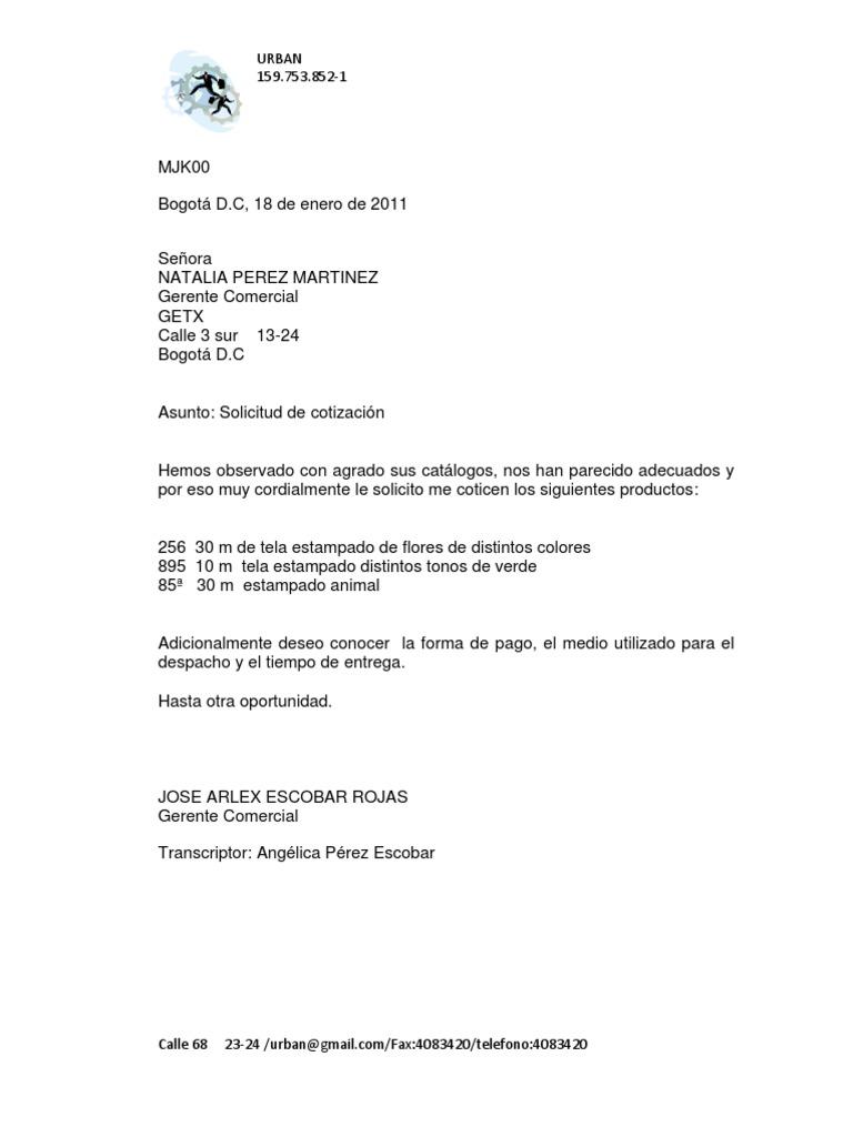 formato cotizacion de servicios profesionales - Paso.evolist.co
