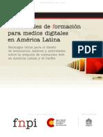 Necesidades de formación para medios digitales en América Latina