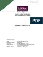 Cth Report Latihan Industri