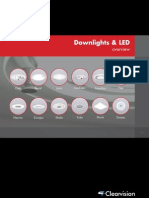 Downlights and LED Brochure