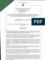 Acuerdo 027 de 2011