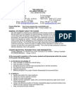 Field Biology Syllabus