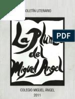 Boletin Literario La Pluma Del Miguel Angel 2011