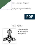 İskandinav Mitolojisi Simgeleri
