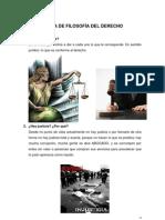 Tarea de Filosofía del Derecho