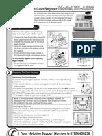 XE A202 Manual