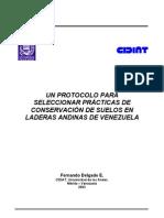 F. Delgado. UN PROTOCOLO PARA SELECCIONAR PRÁCTICAS DE  CONS