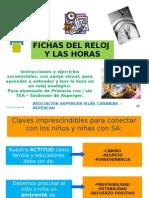 Fichas Reloj y Horas - Paula