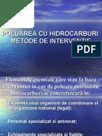 poluarea cu hidrocarburi