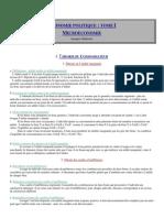 Jacques Généreux - Economie Politique I- Microeconomie 1