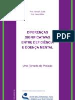 Def vs doença mental