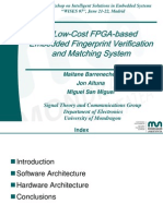 03 - A Low-Cost FPGA-Based Embedded Fingerprint Verification and Matching System - Barrenechea
