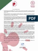 Carta Al Rector