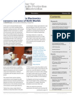 Newsletter - Center for Organic Photonics and Electronics - Volume 006