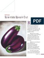 Bt Brinjal Scientists Speak Out