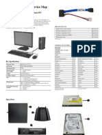 HP 8200 E USFF Parts Und Service Map