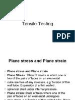 Tensile Testing 1
