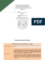 TABLA DE MODELOS DE EVALUACIÓN PSICOLOGICA