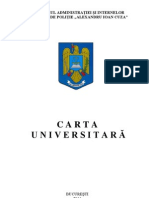 Carta Universitara Academia de Politie 08092011