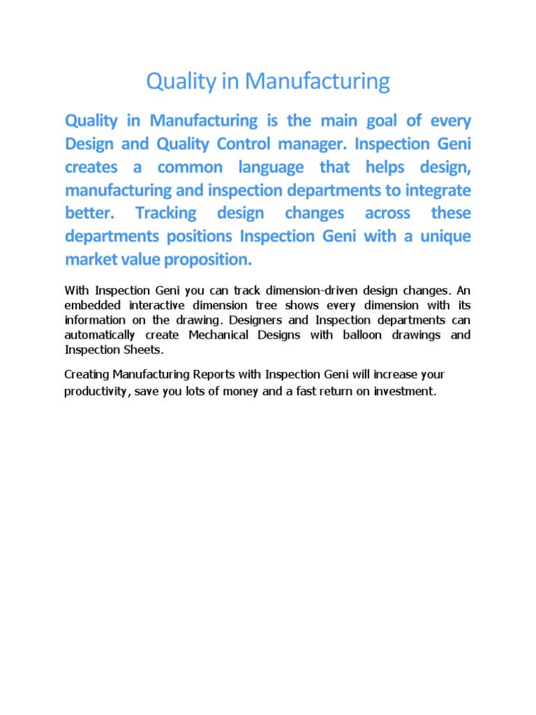 Quality In Manufacturing Toyota Microstructure