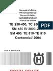 2004 250-400-450-510 Repair