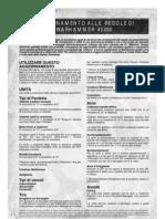 Aggiornamento Regolamento Warhammer 2004