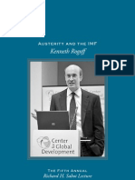 Austerity and the IMF - Kenneth Rogoff
