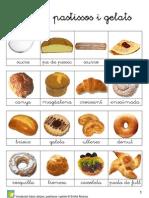 Vocabulari bàsic dolços, pastissos i gelats