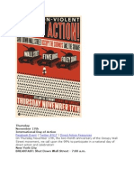 JOIN THURSDAY'S NON VIOLENT PROTEST- SHUT DOWN WALL STREET--INTERNATIONAL PROTEST DAY!! NOV 17, 2011
