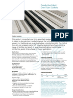 KT DS Conductive Fabric Over Foam Gaskets