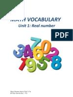 Unit 1 Vocabulary _4º ESO_