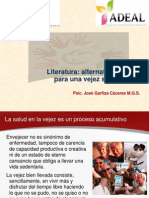 Literatura Alternativa de Ocio Para Una Vejez Saludable