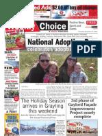 Weekly Choice - November 17, 2011