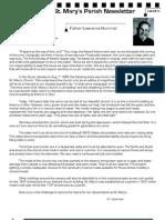 FALL2011 Newsletter