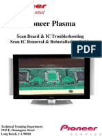 Pioneer Plasma Tv -ScanBoard & ICs Removal Re Installation Guide