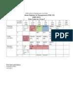 1. Timetable Sep 15-17