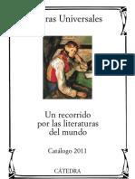 Catedra Letras Universales 2011