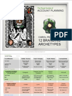 The Royal Society of Account Planning Presents the 12 Branding Archetypes 090814173543 Phpapp01