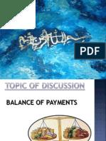 Balance of Payment of Pakistan