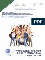 Profesorul Creator de Soft Educational Suport de Curs
