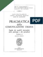Pragmatic A Della Comunicazione Umana